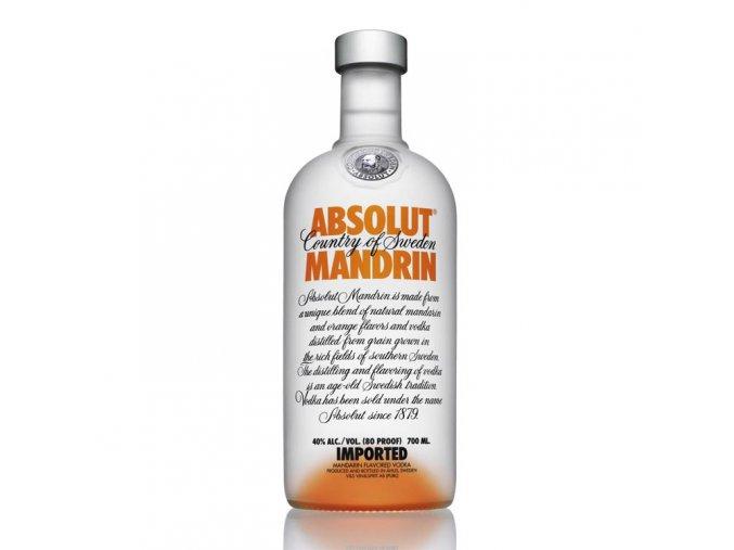 Absolut vodka mandarin 0,7 l