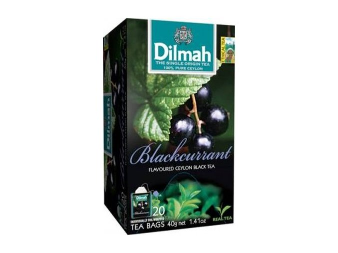 Čaj černý rybíz 20sáčků DILMAH