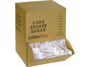 Cukr třtinový HB 200x4g C&T