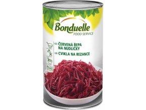 Červená řepa nudličky sterilovaná 4Kg Bonduelle
