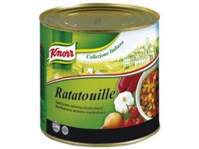 Základ na  Ratatouille směs zeleniny v plechu 2,5 Kg Knorr