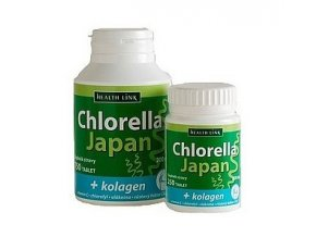 chlorella japan s kolagenem 200mg 250 tablet