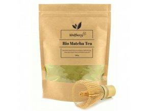 BIO Matcha čaj 0,2 Kg s metličkou Wolfberry