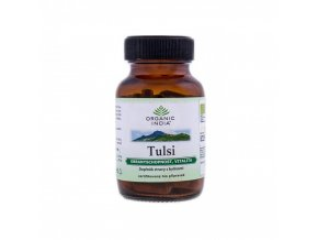 BIO Kapsle Tulsi 60 kapslí Organic India