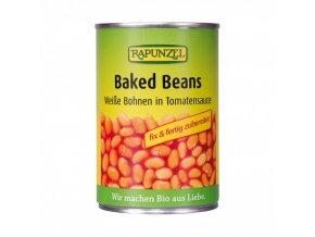 pecene fazole rapunzel bio 400 g