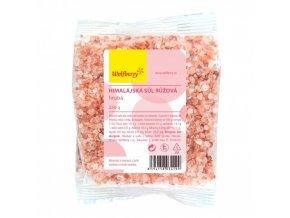 Himalájská sůl růžová - hrubá 250g Wolfberry