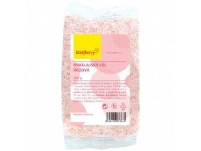 Himalájská sůl růžová 250g Wolfberry