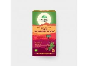 BIO Čaj Tulsi ovocný s ibiškem a černým bezem sáčkový 18ks Organic India