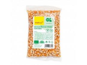 BIO Kukuřice na popcorn 250g Wolfberry
