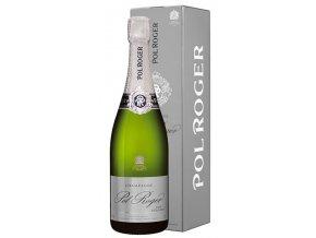 Pol Roger Pure Extra Brut v dárkovém boxu 0,75l