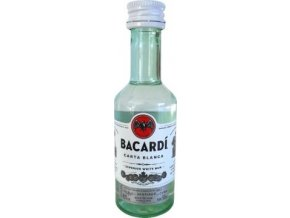 Bacardi Carta Blanca 0.05l mini
