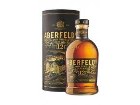 Whisky Aberfeldy 12YO v tubě 40% 0,7l