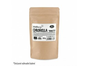 chlorella bio 250 g 1000 tbl wolfberry pdz