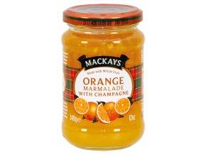 Orange Marmalade with Champagne - Pomerančová zavařenina se šampaňským vínem 340g Mackays