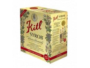 Syrob Malinový - malinový sirup 5l Kitl - velké balení