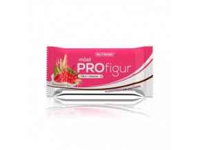 tycinka profigur musli malinova s jogurtovou polevou nutrend 33 g
