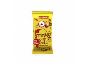 Nutrend tyčinka STREET XL banánová s mléčnou polevou 30g