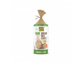 ryzove chlebicky chia quinoa rice up 120 g