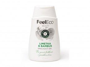 Feel eco limetka a bambus sprchový gel 300 ml