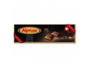 Alprose 74% hořká čokoláda 300g