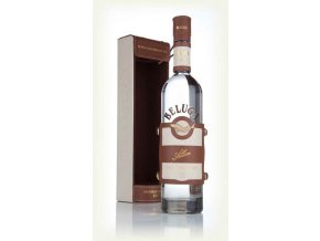 beluga allure vodka with leather case
