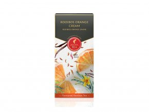 LB Prémiový černý čaj Rooibos Orange Cream 18x2,5g Julius Meinl