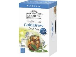 Černý ledový čaj Cold Brew earl grey 20ks Ahmad Tea