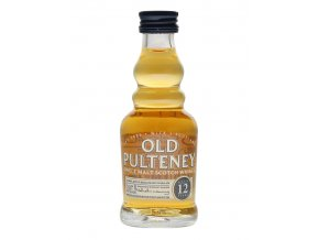 Whisky Old Pulteney 12YO 40% 0,05l MINI