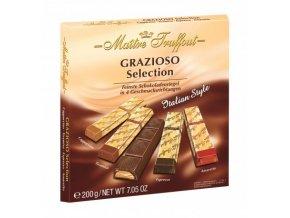 25452 grazioso selection italian style bonboniera 200g maitre truffout