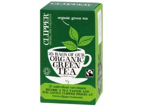 Bio Čaj Clipper Organic Green Tea - Zelený čaj 25 sáčků