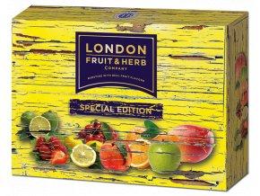 Čaj Special edition pack yellow - směs ovocných čajů žlutý box 30 sáčků London fruit and herbs