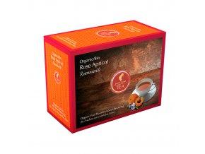 Prémiový čaj Rose Apricot Organic 20x3 g Julius Meinl