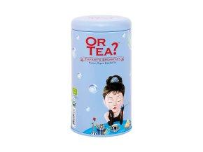 BIO Or Tea Tiffany´s Breakfast - BIO Černý čaj Breakfast v plechové dóze 100g