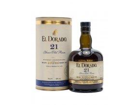 Rum El Dorado 21 letý 0,7 l