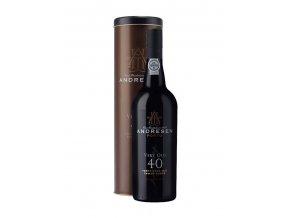 Portské víno J.H. Andresen 40 Years Old Port - v plechové dóze 0,7l