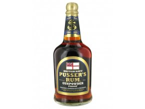 3489 rum pussers gunpowder british navy rum 54 5 0 7 l