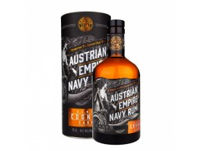 40919 austrian empire navy rum double cask cognac 0 7l 46 5