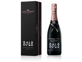 Moet Chandon Grand Vintage Rose 2012 v dárkovém balení 12,5% 0,75l