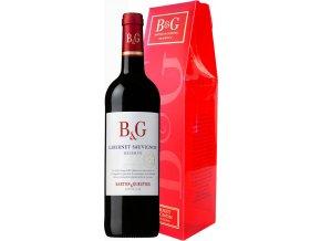 Barton&Guestier Cabernet Sauvignon Reserve 0,75l, dárkové balení červené