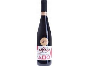 """Nové Vinařství Drnholec Pinot Noir VOC """"Langewarte"""" výběr z hroznů 2016 0,75l"""