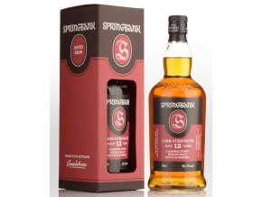 Whisky Springbank 12YO Cask Strength 54,8% 0,7l