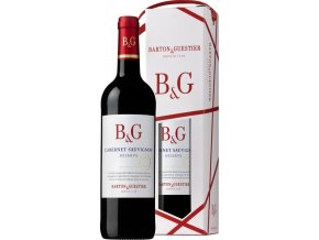 Barton&Guestier Cabernet Sauvignon Reserve IGP 0,75L, dárkové balení