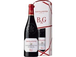Barton&Guestier Chateauneuf du Pape AOC 0,75L, dárkové balení