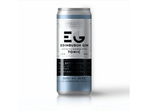 Edinburgh Gin and Tonic 6% 250ml