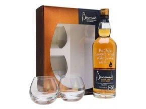 Whisky Benromach 10yo 43% 0,7l Dárkové balení se skleničkami