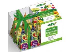 46703 super fruits range infusion collection kolekce ovocnych caju 12 sacku liran