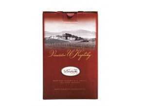 Bag in box Cabernet Sauvignon víno červené suché 5 l Vinařství U Kapličky
