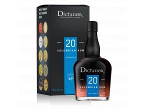 47789 rum dictador solera ultra premium reserve 20yo v kartonu 40 0 7l