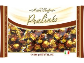 50516 bonbony pralines milk chocolate wiht cappuccino filling cokoladovo kapucinove pralinky 1kg maitre truffout