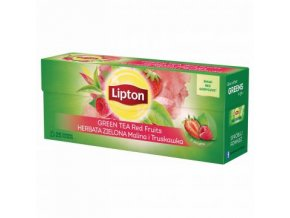 49394 lipton green tea red fruits aromatizovany zeleny caj 25x1 4